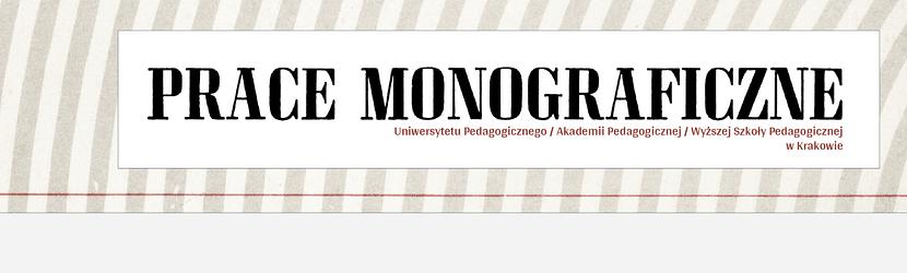 Prace Monograficzne UP/WSP w Krakowie